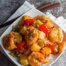 Sweet and Sour Prawns {Easy Sweet and Sour Shrimp}