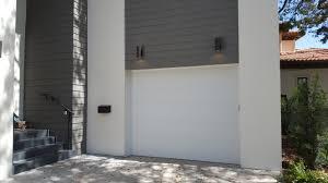 flush panel garage doorEye Catching Garage Door Makeover Ideas in Tampa