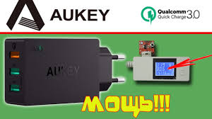 БЫСТРАЯ <b>USB ЗАРЯДКА AUKEY</b> PA-T14 С QUALCOMM QC3.0 ...