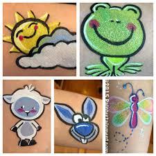 paintertainment springtime happenings at paintertainment lamb and crazy bunny face painting cheek art
