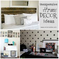 Inexpensive Ideas for decorating your home on a budget