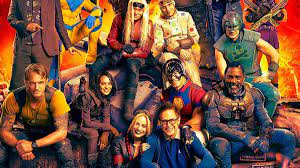 The cast of THE SUICIDE SQUAD hit the ...