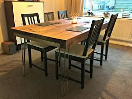 Hairpin dining table Bench Kitchen Cabinets Design Singapore Island Sink Hairpin Dining Table Designs And Ideas Engaging Mariop Kitchen Cabinets Design Singapore Island Sink Hairpin Dining Table