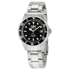 invicta pro diver watches jomashop invicta pro diver black dial men s stainless steel men s watch