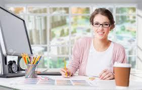 Designer Stock Photo Young Female Graphic Designer