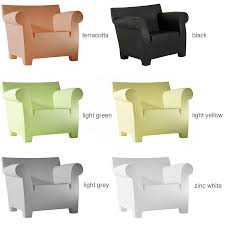 outdoor arm chair. Kartell Bubble Club Modern Outdoor Armchair By Philippe Starck Arm Chair