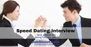 job interview speed dating