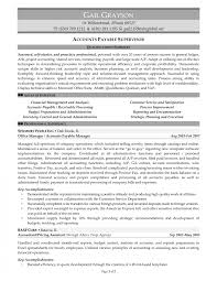 Accounts Payable Manager Resume Objectives Example Resumes Yun56 Co