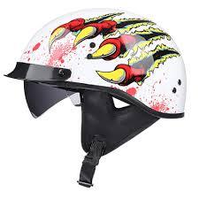 Amazon Com Vintage Harley Prince Helmet Men And Women