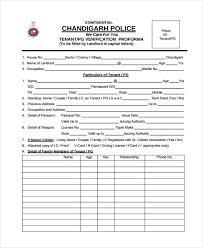 9 Tenant Verification Form Sample Free Sample Example Format
