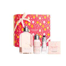 cherry blossom festive gift set holiday
