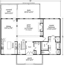 30 X 50 Floor Plan  Lot 6 House Plans  Pinterest  Barn House Vacation Home Floor Plans