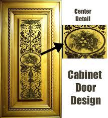 cabinet door design. Interesting Cabinet Woven Flower Tree  On Cabinet Door Design