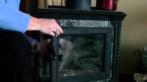 how to clean your wood stove fireplace glass