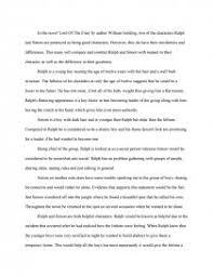 lord of the flies college essays zoom zoom zoom