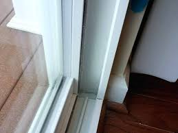 how to repair door frame after vinyl sliding door frame repair garage door frame repair cost