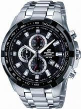 "oversized watches large oversize watches watch shop comâ""¢ mens casio edifice chronograph watch ef 539d 1avef"