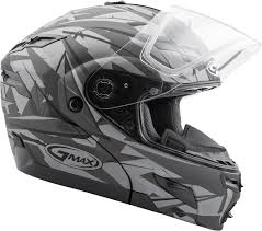 Gmax Gm54s Size Chart Gmax Gm54s Matte Black Grey Scribe Graphic Modular Snow Helmet