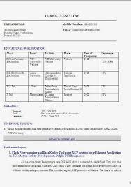 resumeformat73 download resume format freshers resume formats