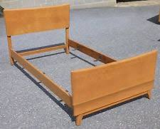 how to make a twin bed. Wonderful How HEYWOOD WAKEFIELD KOHINOOR TWIN BED  M140 CHAMPAGNE NR To How Make A Twin Bed T