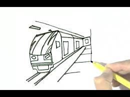 subway train drawing. Beautiful Train How To Draw Subway Train In Easy Steps For Children Kids Beginners Intended Train Drawing L