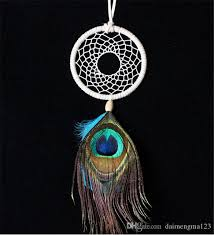 Where To Buy Dream Catcher Best Discount Hot Sale Fashion Good Price Peacock Feathers Ornaments