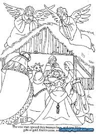 Baby Jesus Coloring Page Free Printable Pages Swifteus