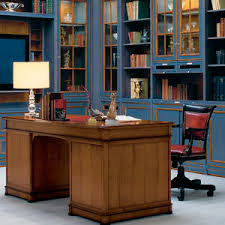 classic office desk. wooden desk / classic with storage office 0
