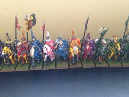 these six knights are some of the old heraldry of the old bret knights and some basic conversions to provide a lot of diversity