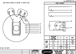 leeson electric motor wiring diagram diagrams database ~ wiring 6 lead single phase motor wiring diagram at 240v Motor Wiring Diagrams