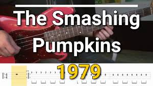 The Smashing Pumpkins - 1979 (Bass Cover) Tabs - YouTube