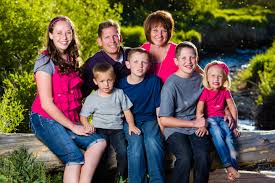 Family Pictures Chowen Family Portraits Near Park City Davd Photography