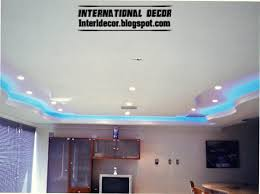 new lighting ideas. New Ideas Ceiling Lighting With Gypsum Ceilings Designs Blue L