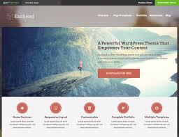 30 best portfolio wordpress themes 2017 athemes enclosed wordpress theme