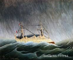 Image result for boat in storm