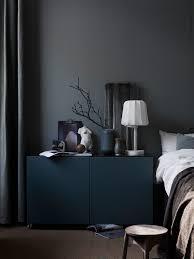 Wandfarbe Möbel Black Schlafzimmer An Schwarze Möbel Und Schwarze