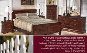 ashley traditional bedroom furniture. alisdair-bedroom-collection-ashley-b376 ashley traditional bedroom furniture