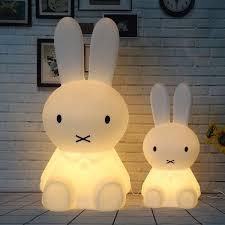 50 Cm Konijn Led Nachtlampje Dimbare Voor Kinderen Baby Kids Gift