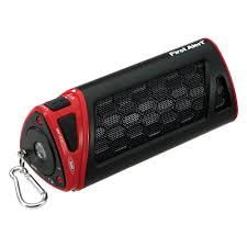 portable outdoor speakers. first alert® - spectra portable outdoor bluetooth speaker speakers t
