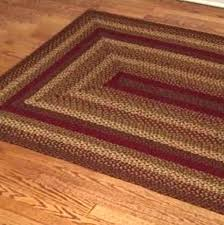best choice of braided country rugs at wine star rectangle area rug primitive jute adorable on style cinnamon rustic texas sta