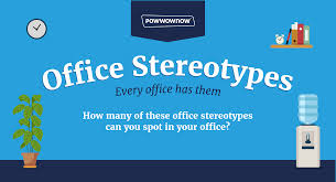 office stereotypes. Office Stereotypes \u2013 Infographic E