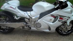 all things chrome 2012 tricked out white hayabusa youtube