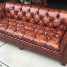vintage leather couch. Schafer Bros. Vintage Leather Couch/sofa \ Couch A
