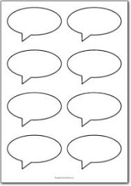 Word Bubble Templates 8 Blank Speech Bubbles Free Printables Free Printable