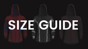 Sizing Guide Superfit Hoodies Wayne Parker Brock