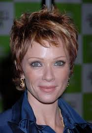 short hairstyles for women over 60 with fine hair modeled her sleek new bob for the