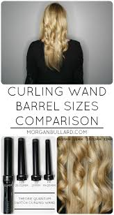 barrel size curling wand barrel sizes comparison morgan bullard
