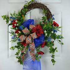 patriotic wreaths for front door754 best Gaslight Floral Design Handmade images on Pinterest