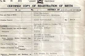 Make Your Own Fake Birth Certificate Fact Check Barack Obama Birth
