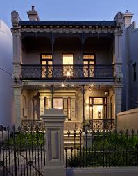 wrought iron fence victorian. Cast Iron Decor Exterior Victorian With Wrought Fence Metal Railing